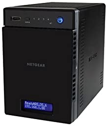 NETGEAR ReadyNAS 104 4-Bay Network Attached Storage Diskless (RN10400-100NAS)