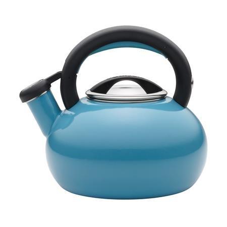 Circulon 2-Quart Sunrise Teakettle, Turquoise
