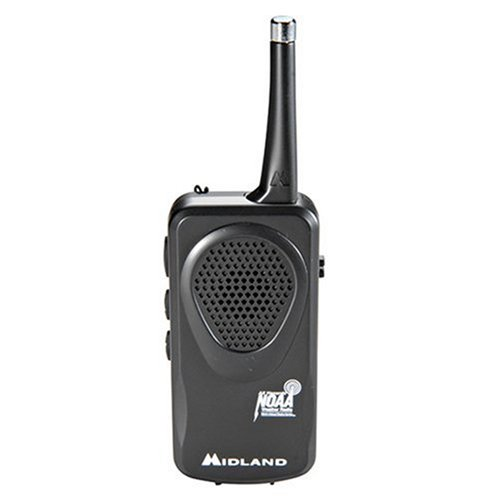 MIDLAND HH50 Pocket Weather Radio (Black)