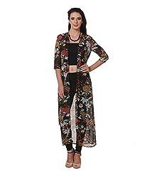 Zastraa Women's Dress (ZSTRDRESS0001_Black_Large)