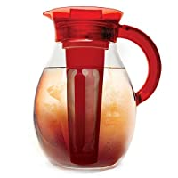 Primula The Big 1-Gallon Iced Tea & Cold Coffee Brewer in Red