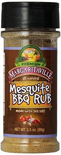 Margaritaville BBQ Rub, Mesquite, 3.5 Ounce