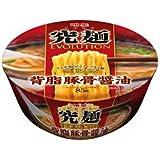 明星 究麺 背脂豚骨醤油 118gX1箱(12個入)