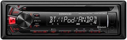 Kenwood KDC-BT35U Sintolettore CD/USB, Nero