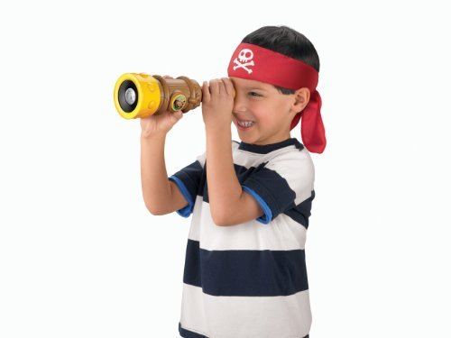 Fisher-Price Disney'S Jake And The Never Land Pirates - Jake'S Talking Spyglass Toy, Kids, Play, Children