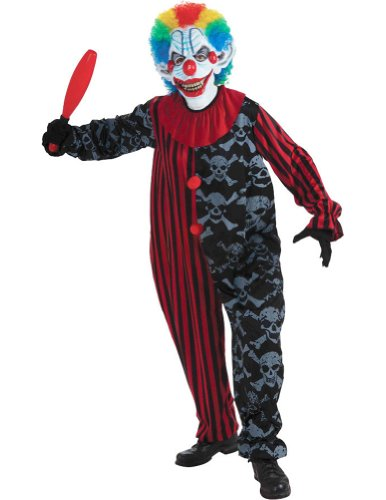 Creepo The Clown Adult Costume Halloween Costume