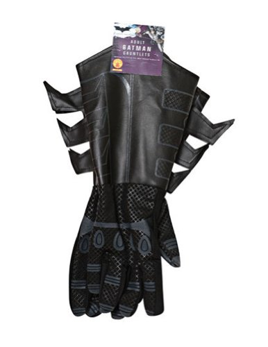 Costume-Accessory Batman Gloves Adult Dark Knight Halloween Costume Item