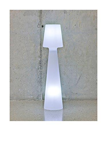 Artkalia Ela L Wired 1-Light LED Floor Lamp, White Opaque
