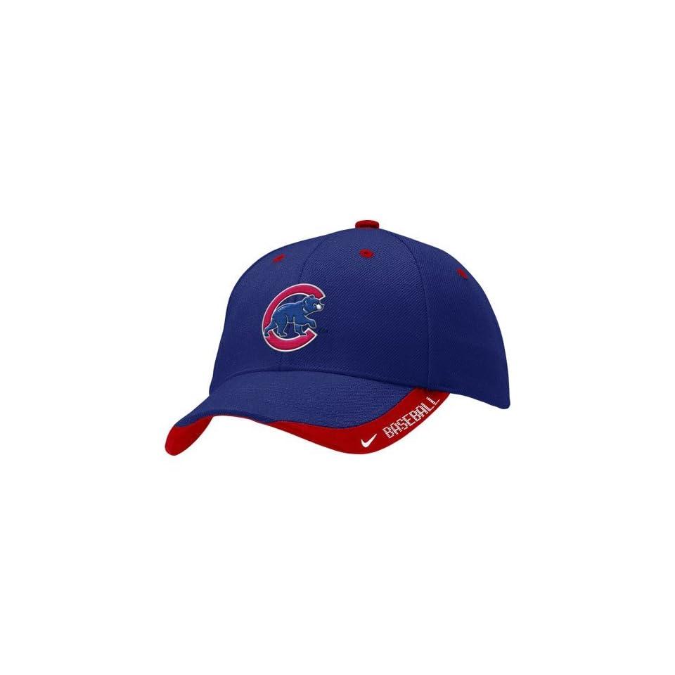 buy popular 4ab09 260ea Nike Chicago Cubs Royal Blue 07 Practice Hat