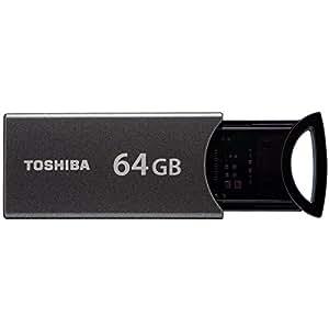東芝(TOSHIBA) USB3.0フラッシュメモリ 64GB TransMemory-MX 海外パッケージ品 V3KMM-064G-BK