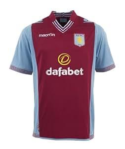 Aston Villa FC 2013/14 S/S Home Football Shirt - size L