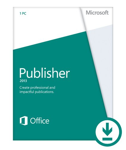 Microsoft Publisher 2013 (1PC/1User) [Download]
