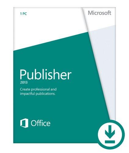 Microsoft Publisher 2013 (1PC/1User) [Download] (Publisher Program compare prices)