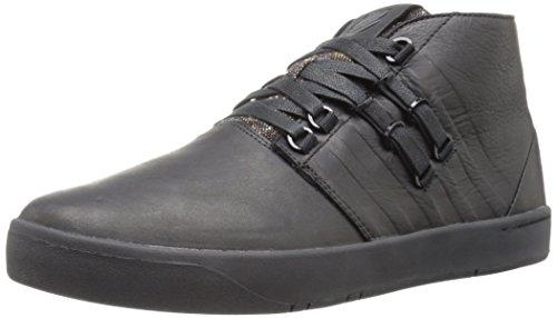 K-Swiss Men's D R Cinch Chukka P Fashion Sneaker, Black/Black, 9 M US