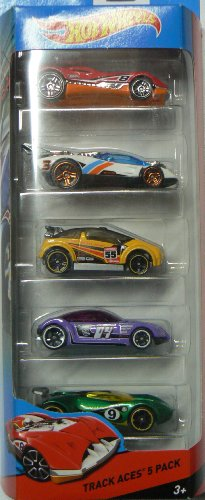 Hot Wheels, 2014 Race Series, Track Aces 5-Pack - 1