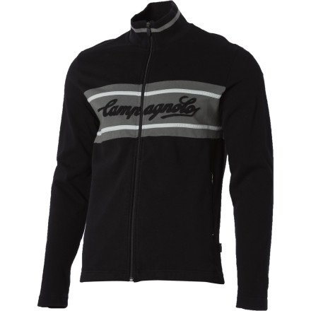 Buy Low Price Campagnolo Sportswear Men's Logo Fleece Jacket (1302001-P)