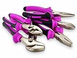 The Original Pink Box PB5PL 5-Piece Pliers Set, Pink thumbnail