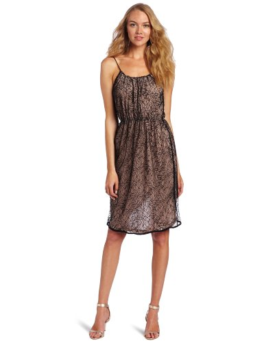 Stella & Jamie Women's Selena Lace Dress, Black, X-Small