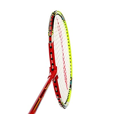 Li Ning Smash Xp 80 Badminton Raquet (Red/Green/White)