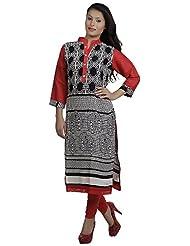 Aarika Women's Viscose Slim Fit Kurti