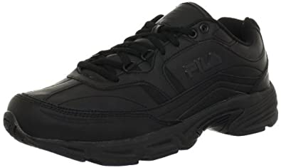 Fila Men's Memory Workshift Cross-Training Shoe,Black/Black/Black,6.5 M US