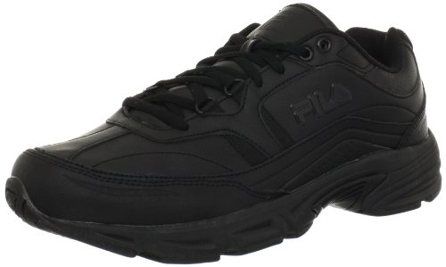 Fila Men's Memory Workshift Cross-Training Shoe,Black/Black/Black,10.5 M US