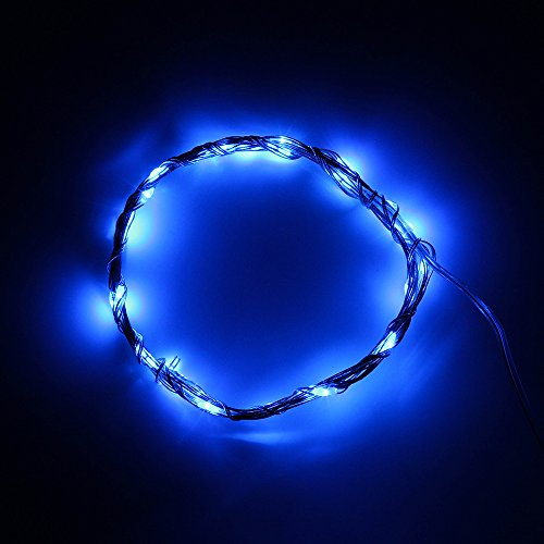 Supernight 3M 30 Led Micro Indoor String Lights Aa Battery Operated 10Ft 30 Beads Silver Color Flexible Soft Wire Light Starry Starry Light Fairy Led Light - Yellow