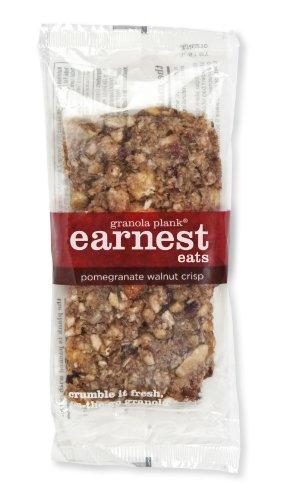 Earnest Eats Granola Plank, Pomegranate Walnut Crisp, 3-Ounce Planks, 6-Count