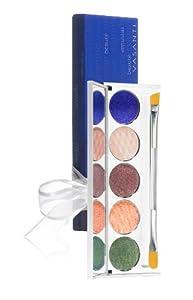 Vasanti Cosmetics Tinseltown Eyeshadow & Eyeliner Palette - Paraben-free by Vasanti Cosmetics