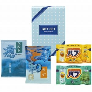 熊野油脂 入浴剤 バラエティセット 、25g入浴剤 ) No.888