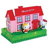 HELLO KITTY HOUSE STEP ABOVE CAKE KIT & FIGURES