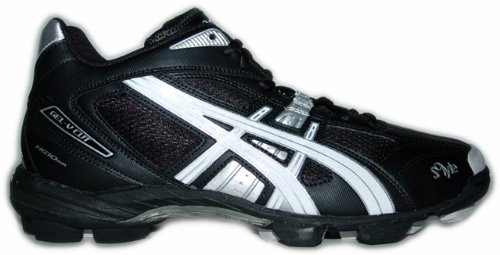 Asics Lacrosse Shoes Gel-V Cut MT Men 9001 Art. P906Y size UK 10.5