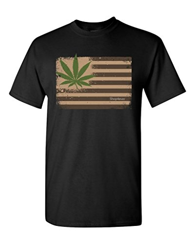 Pot-Leaf-USA-Flag-T-shirt-Marijuana-420-Shirts