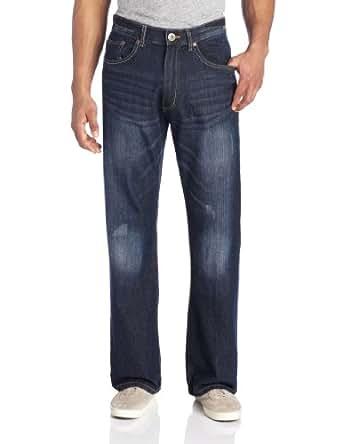 Company 81 Men's Slim Straight Denim Jean, Roadster Blue, 32x30