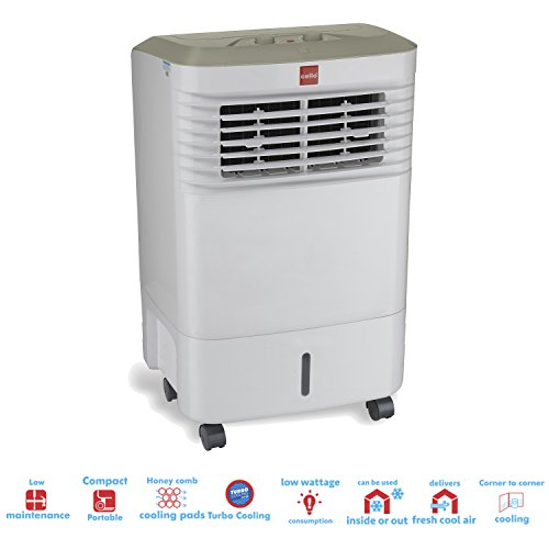 Get 33% Off on Cello Trendy 30-Litre Air Cooler (White/Grey) – Amazon