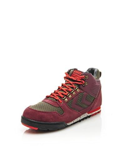 Hummel Sneaker Nordic Roots - Forest [Bordeaux/Grigio]