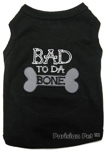 BAD TO DA BONEDog T-Shirt-X-Small