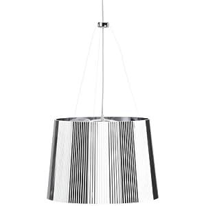 lampadari moderni: Kartell 9080XX Ge Lampadario cromato offerte