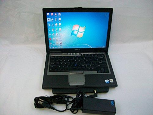 Veritable Dell Latitude D620 Laptop Core 2 Duo 1.66GB 60GB DVD/CDRW Windows 7 Untroubled b in Premium