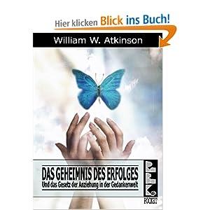 eBook Cover für  Das Geheimnis des Erfolges Und das Gesetz der Anziehung in der Gedankenwelt