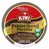 Kiwi Dark Tan Parade Gloss Shoe Polish 50g