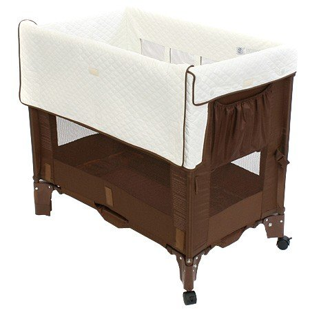 Best Review Of Arm's Reach Co-Sleeper Mini Bassinet Convertible, Coco Natural