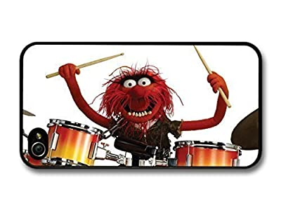 fashion case The Muppets Animal Drummer Playing Drums Funny White Background case for iphone 6 plus 5.5
