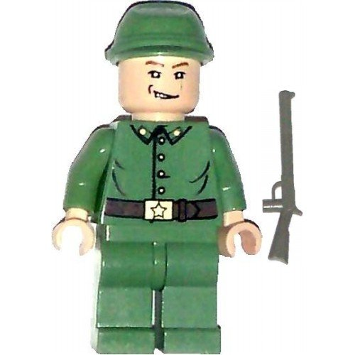 LEGO Indiana Jones Minifig Russian Guard 1