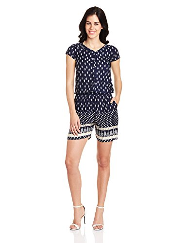 Lee-Cooper-Womens-Rayon-Empire-Playsuit