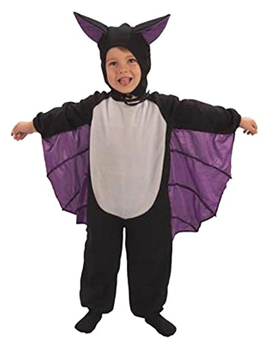 Bat Suit Toddlers Halloween Fancy Dress Costume Age 3 Years