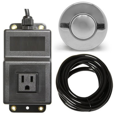 Single Outlet Sink Garbage Disposal Air Activated Switch (Air Switches compare prices)
