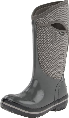 Bogs Women's Plimsoll Tall Herringbone Boot
