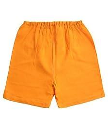 Zutano Baby Shorts - Orange - 12 Months