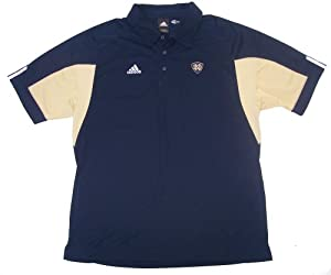 Notre Dame Fighting Irish Large Adidas Classic Performance Polo Shirt Navy Blue Adult... by Classic Performance Polo Shirt
